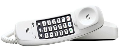 Trimline Telephone with 13 Number Memory - White