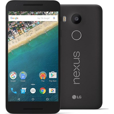 H790 Google Nexus 5X 32GB Unlocked Smartphone - Carbon Black - OPEN BOX
