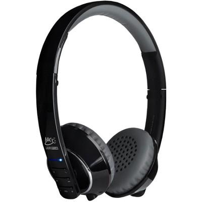 Air-Fi Runaway AF32 Stereo Bluetooth Wireless Headphones w/ Mic. (Black/Grey)