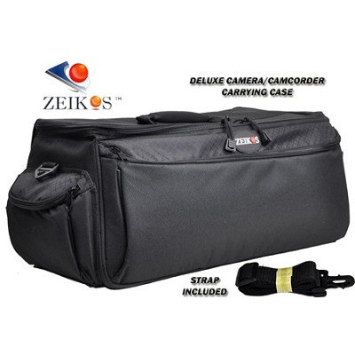 CA102B Large Camcorder/Camera System Carrying Case