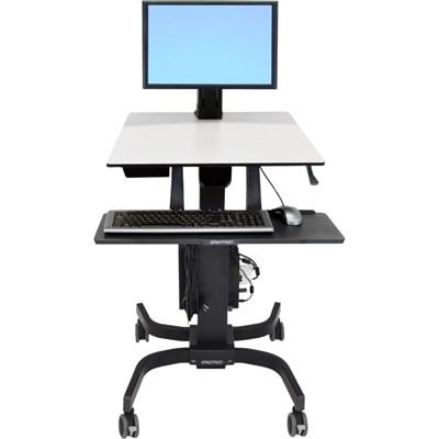 WorkFit C Single LD Sit Stand Workstation - 24-215-085
