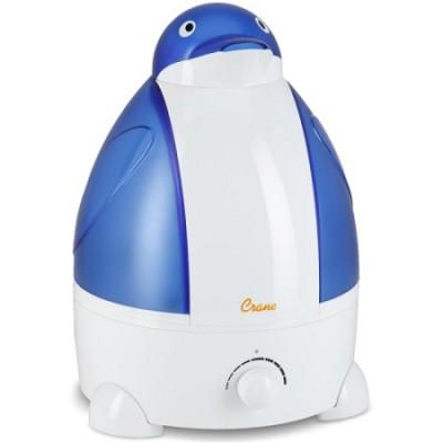 Adorable Ultrasonic 1 Gallon Cool Mist Humidifiers 32 Watts - Penguin - OPEN BOX