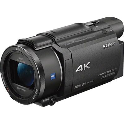 FDR-AX53/B 4K Handycam Camcorder with Exmor R CMOS Sensor
