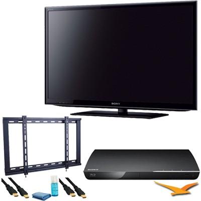 KDL40EX640 - 40 inch 120hz LED Wifi Internet TV Plus Blu-Ray Bundle