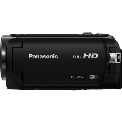 HC-W570K HD Camcorder with Built-in Twin Video Camera