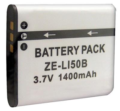 1400mAH Replacement Lithium Battery for Olympus Li-50B