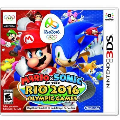 Mario and Sonic Rio 2016 3DS