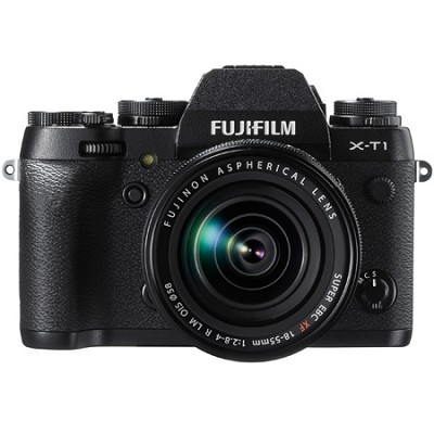 X-T1 16.3MP Full HD 1080p Video Mirrorless Digital Camera with 18-55mm Lens