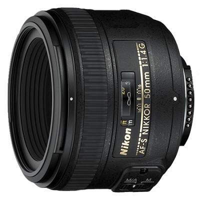 AF-S NIKKOR 50mm f1.4G Lens - FACTORY REFURBISHED