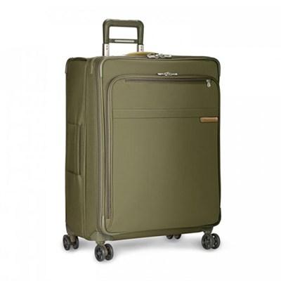 Baseline Collection 28` Large Expandable Luggage Spinner (Olive) U128CXSP-7