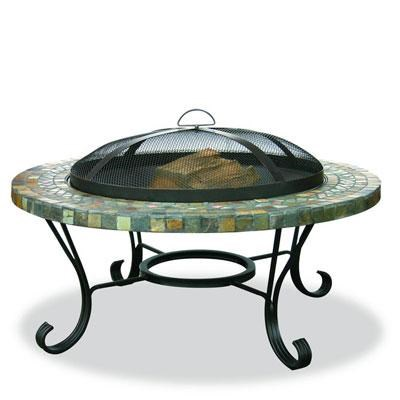 UF Outdr Firebowl Tile Copper