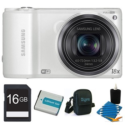 WB250F 14.2 MP SMART Camera White 16GB Kit