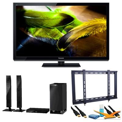 50` TC-P50UT50 VIERA 3D Full HD (1080p) Plasma TV Speaker Bundle