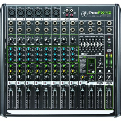ProFX12v2 12-Channel Professional FX Mixer with USB - OPEN BOX