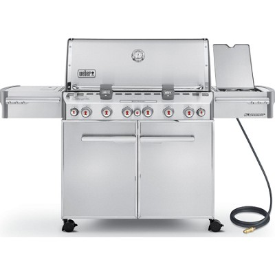 Summit 7470001 S-670 Stainless-Steel 60,800-BTU Natural-Gas Grill