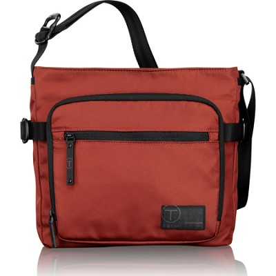 T-Tech Icon King Top Zip Crossbody (Sienna Red)