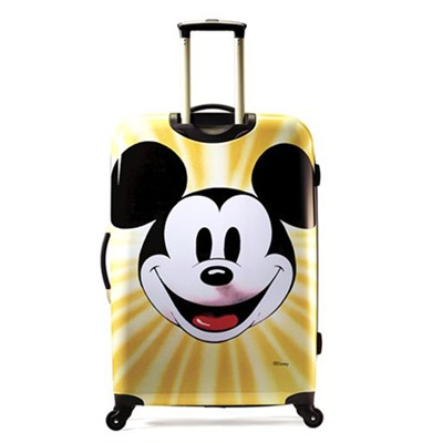 67611-4759 28` Hardside Spinner - Mickey Mouse Face