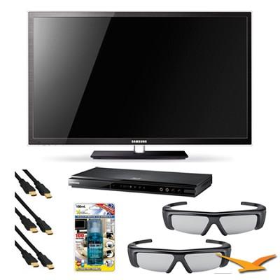 PN64D7000 64 inch 1080p 3D Slim Plasma HDTV 3D Kit