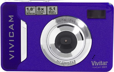 Vivicam 5022 Digital Camera (Purple)