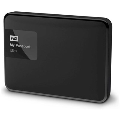My Passport Ultra 3 TB Portable External Hard Drive, Black