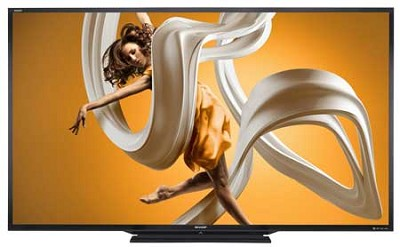 LC-90LE657U 90-inch Aquos HD 1080p 120Hz 3D Smart LED TV