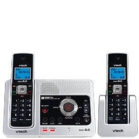 LS6125-2 DECT 6.0 Two Handset Cordless Answering System - OPEN BOX