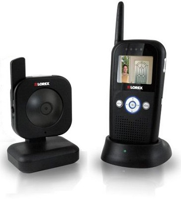Lorex LW2002B Digital Portable Color LCD Wireless Surveillance System (Black)