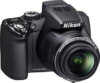 Coolpix P100 Digital Camera w/ 26x Zoom (Matte Black)