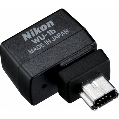WU-1b Wireless Mobile Adapter for select Nikon - OPEN BOX