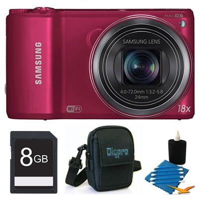 WB250F 14.2 MP SMART Camera Red 8GB Kit