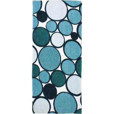 Printed Geometric Kitchen Towel - Aqua