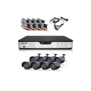 8 Channel H.264 DVR (Internet Ready, 8 Night Vision Cams,500GB HDD Mobile Ready)