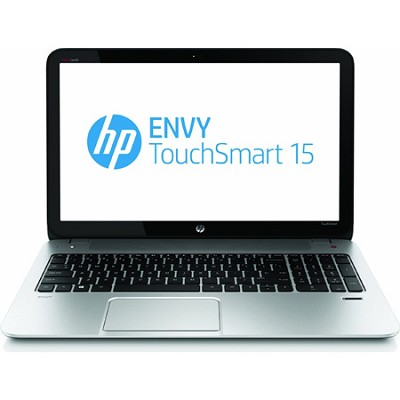 ENVY TouchSmart 15.6` HD LED 15-j050us Notebook PC - Intel Core i7-4700MQ Proc.