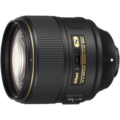 AF-S NIKKOR 105mm f/1.4E ED Lens