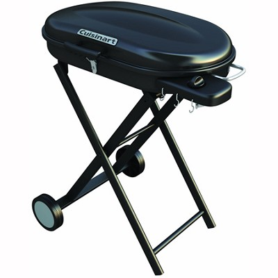 Portable Gas Grill with Rolling Cart - CGG-440