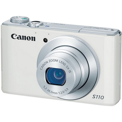 PowerShot S110 White  Digital Camera (ships in 3 to 5 days)