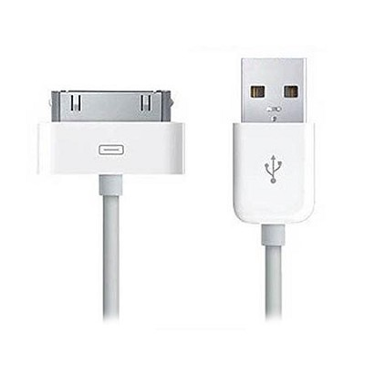 USB Sync and Charging Cable Compatible with Apple Products White