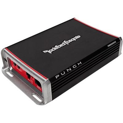 PBR300X2 Punch 300-Watt 2-Channel Boosted Rail Amplifier