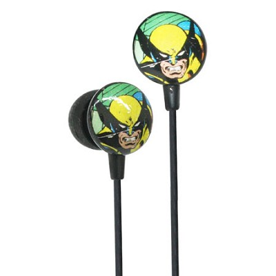 Marvel Comics Retro Earphones - Wolverine