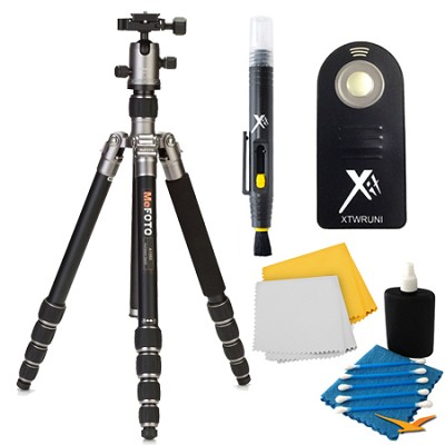 A1350Q1T Roadtrip Travel Titanium Tripod Accessory Kit
