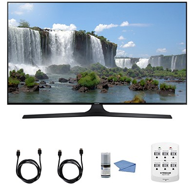 UN50J6300 50` Full HD 1080p 120hz Smart LED HDTV WIFI HDMI Cleaning Kit