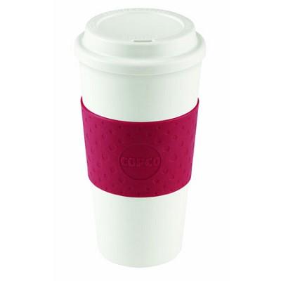 Acadia Travel Mug, 16-Ounce, Cherry Red (2510-9990)