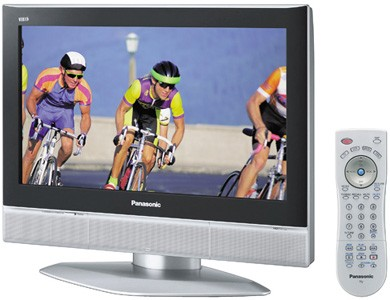 TC-26LX50 26` Widescreen LCD HDTV with Built-In 4 Speaker Sound System