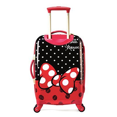 67612-4754 21` Hardside Spinner - Minnie Mouse Red Bow