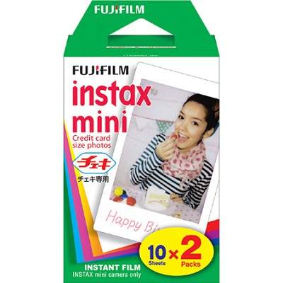 Instax Mini Twin Pack Picture Format Instant Daylight Film (20 Shots) 16437396