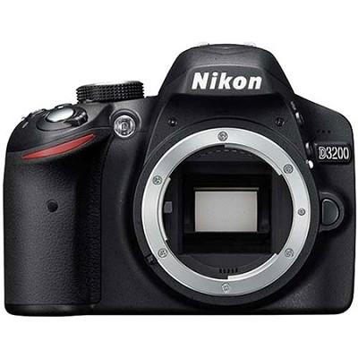 D3200 24.2MP 1080p DX-format Digital SLR Camera Body (Black) Factory Refurbished