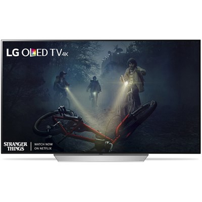 OLED55C7P - 55` 4K Ultra HD Smart OLED TV (2017 Model) - OPEN BOX