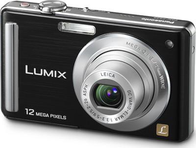 DMC-FS25K LUMIX 12.1 MP Digital Camera w/ 3.0` LCD (Black) Open Box