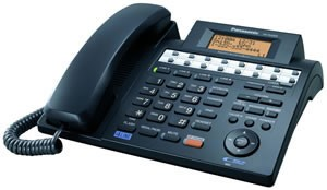 KX-TS4300B 4-Line Speakerphone W/ Caller ID, &  Digital Answering System