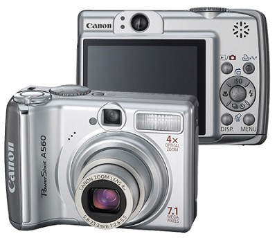 PowerShot A560 Digital Camera